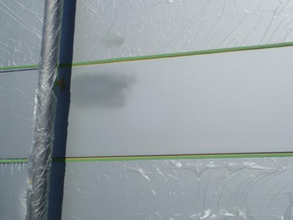 イソバンド外壁の補修 シルバー